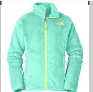 The North Face osolita fleece jacket  lg 14-16